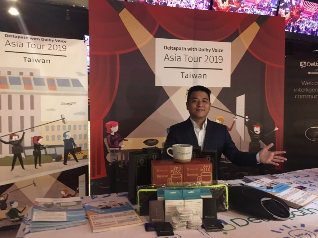 2019 Deltapath with Dolby Voice Asia Tour Kaohsiung Taiwan